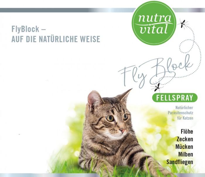 FlyBlock-150ml Katze