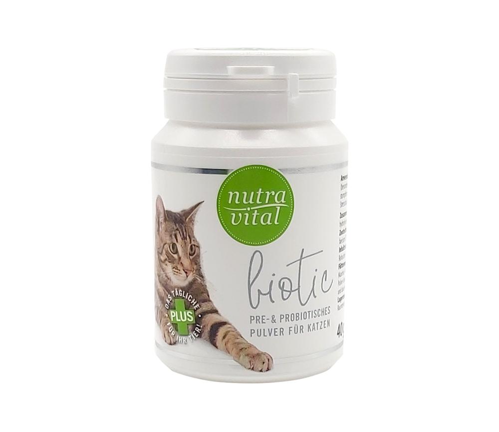 NutraVital Biotic Katze