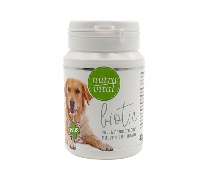 NutraVital Biotic Hund